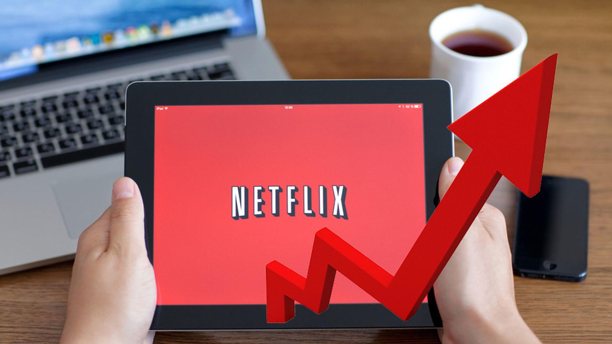 Netflix kaprer stadig flere abonnementer.