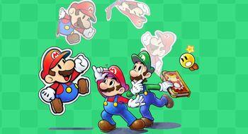Test: Mario & Luigi: Paper Jam Bros.