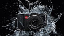 Leica med undervannskamera