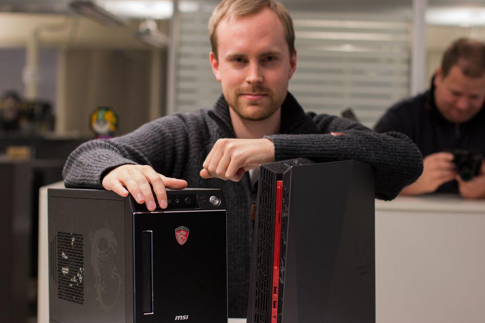 Vi hentet inn to plasseringsvennlige og kraftige spillmaskiner til test. Hvilken av MSI Nightblade X2 og Asus ROG G20CBsom passer deg best skal vi forsøke å gi svar på over de to neste sidene.