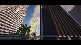 Los Santos i Minecraft.