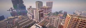 Gjenskaper hele Grand Theft Auto V i Minecraft