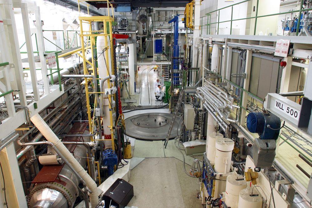 Reaktor: Halden-reaktoren er midtpunktet i inernasjonal forskning på reaktorsikkerhet og brenselsøkonomi.