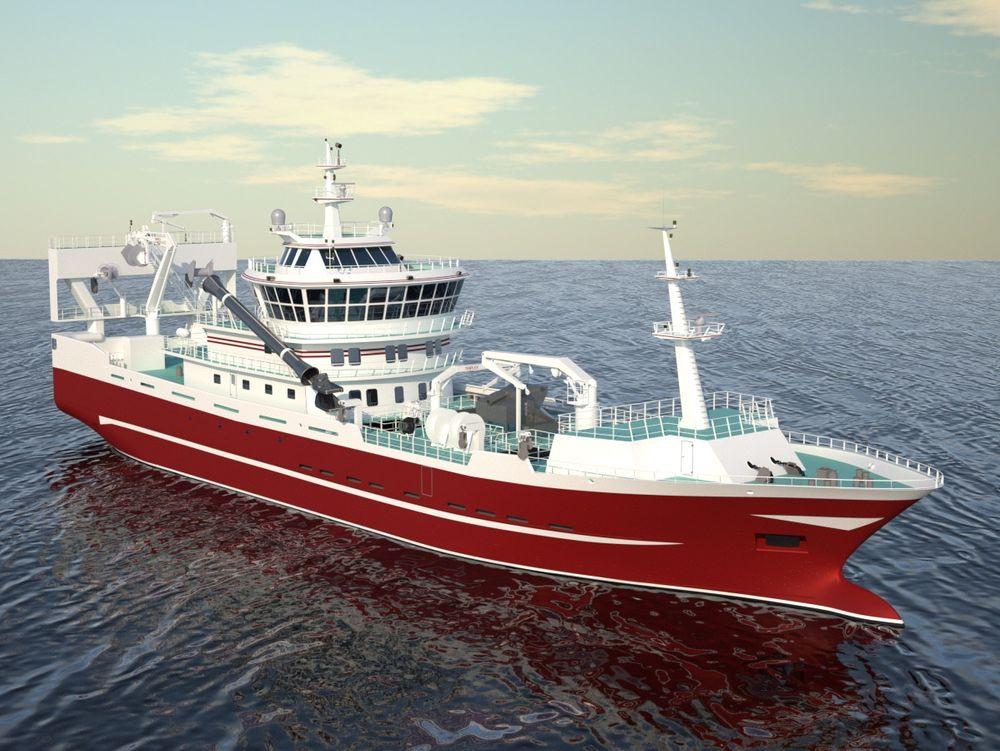 Turistskip også: Skipet skal brukes til mer enn bare fiske. Fartøyet er nemlig utstyrt med en ekstra skybridge som er beregnet på eventyrlystne russere med romslig økonomi.