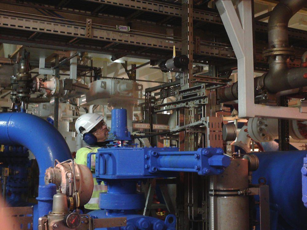 Sensorteknologi, som de trådløse gassdetektorene på Gullfaks C, kan gi store gevinster for oljebransjen, mener Kjell Arne Yttervik i Cisco Norge.