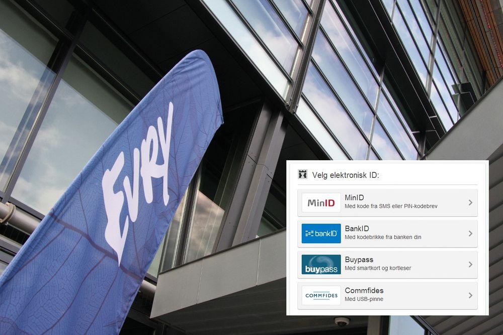 Evry leverte det beste pristilbudet for å drifte innloggingsportalen til norske offentlige tjenester på nett.