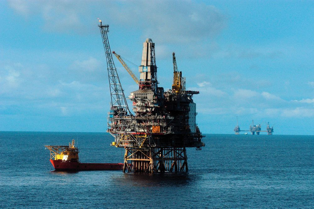 Blir medlem: Wintershall, her representert ved Brage-plattformen, er nå en del av Subsea Valley-klyngen. Foto: Arkiv