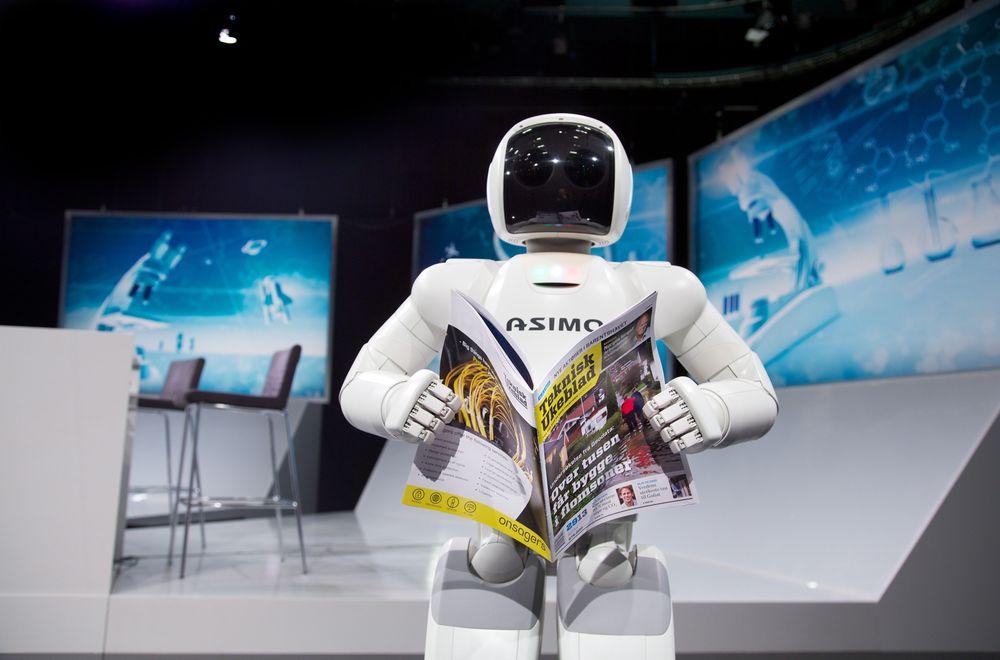 Hondas humanoide Asimo-robot egner seg foreløpig ikke til å erstatte særlig mange arbeidere. Men i Finland kan en tredjedel av arbeiderne byttes ut med IT-løsninger og roboter de neste 20 årene, ifølge en undersøkelse.