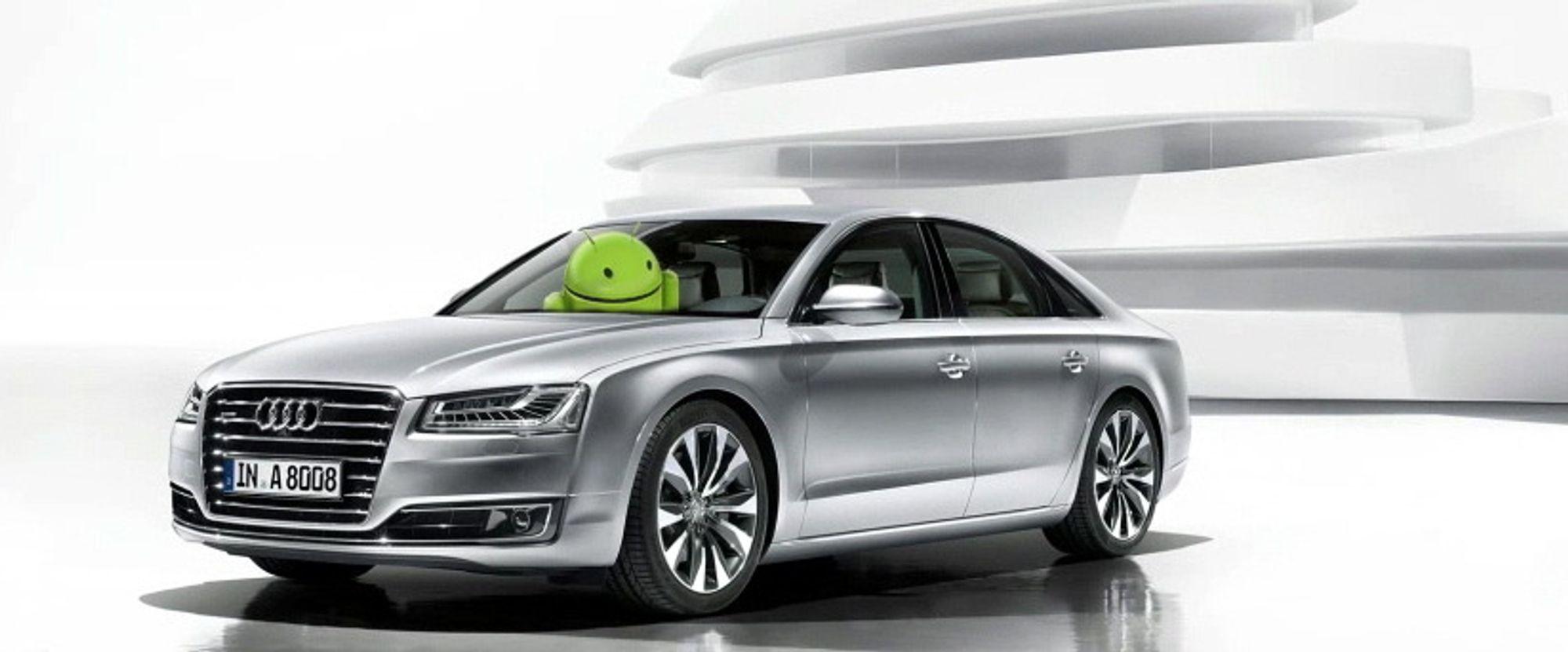 Audi og Android: Bilkjempen Audi og IT-giganten Google vil annonsere en omfattende avtale under CES i Las Vegas neste uke.