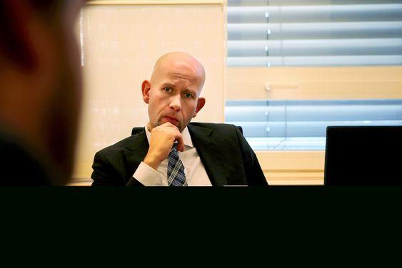 Ole- og energiminister Tord Lien