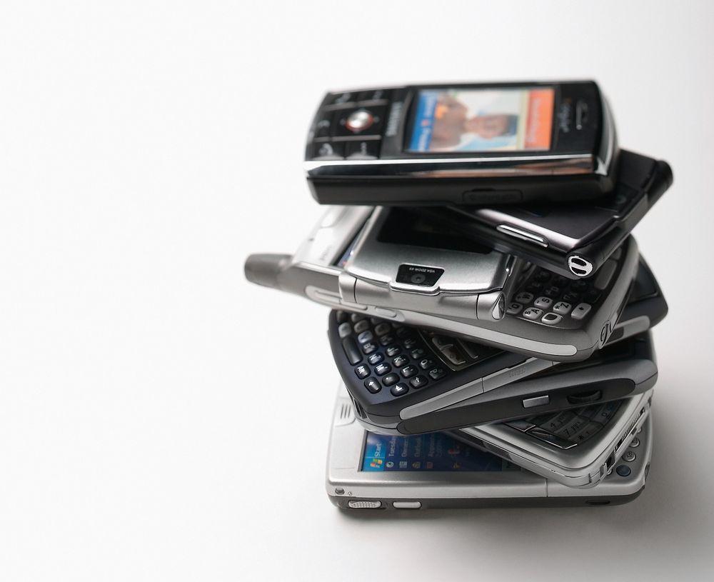 Hvor mange mobiltelefoner har du selv hatt?
