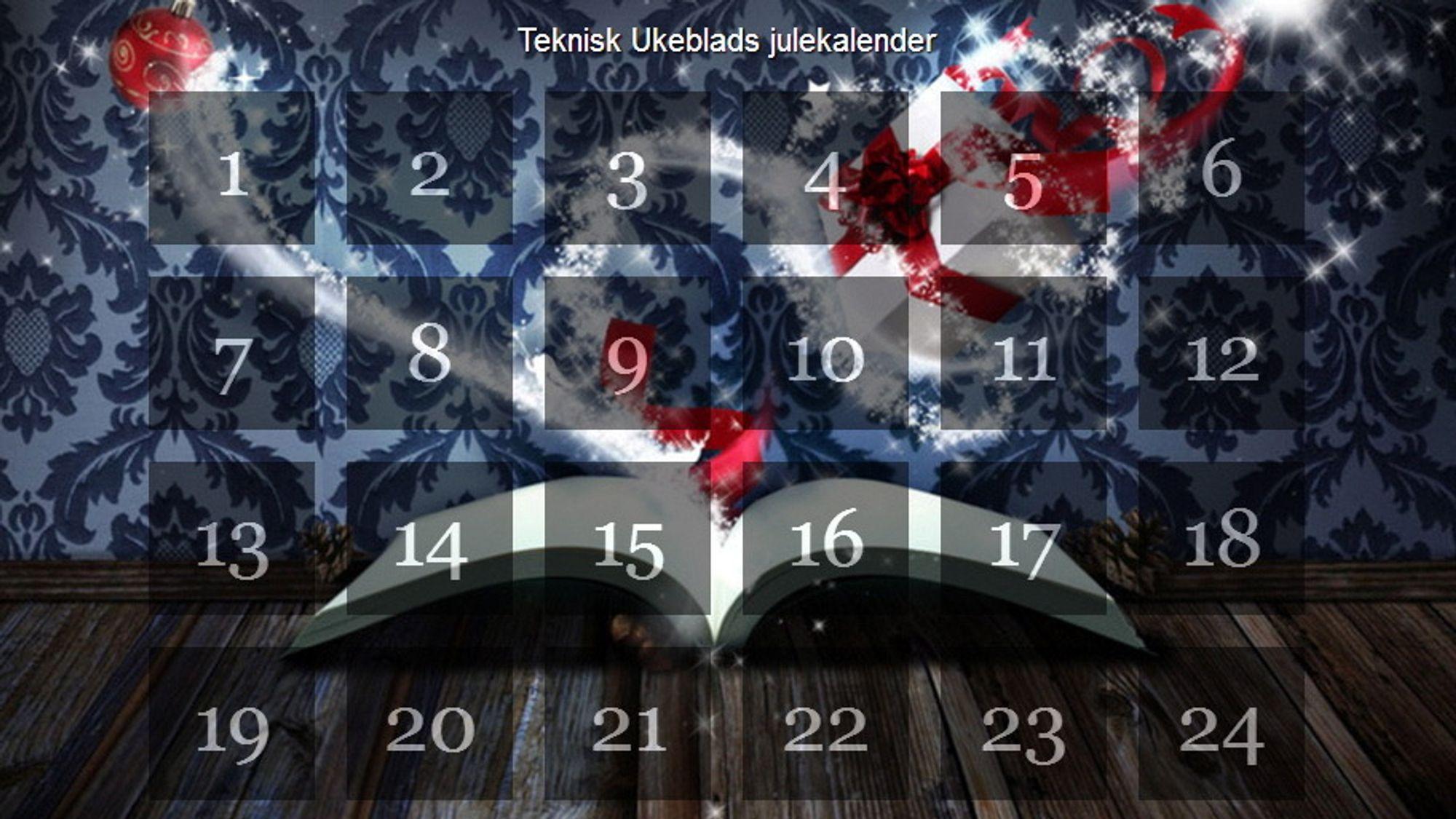Teknisk Ukeblads julekalender 2013.