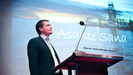 Lars Jetlund Hansen, leder for petroleumsteknologi i Statoils gassprosjekt i Tanzania, fortalte at den første brønntesten i Tanzania har vært vellykket.