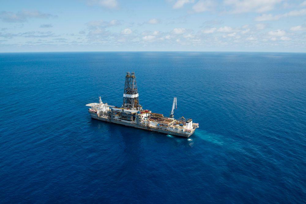 Piri-1 ble boret av boreskipet Discoverer Americas.