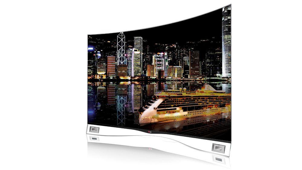 LGs OLED-TV blåser vår tidligere referanseskjerm av banen. For en kontrast og dynamikk!