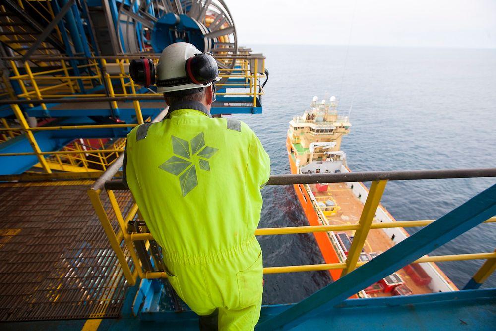 Mindre attraktiv: I en undersøkelse og rapport fra DNV GL kommer det frem at Norge og Storbritannia blir forbigått av Malaysia og Kina som attraktive olje- og gassområder. Norge har falt fra en fjerdeplass til en niendeplass. Foto: Håkon Jacobsen/Arkiv