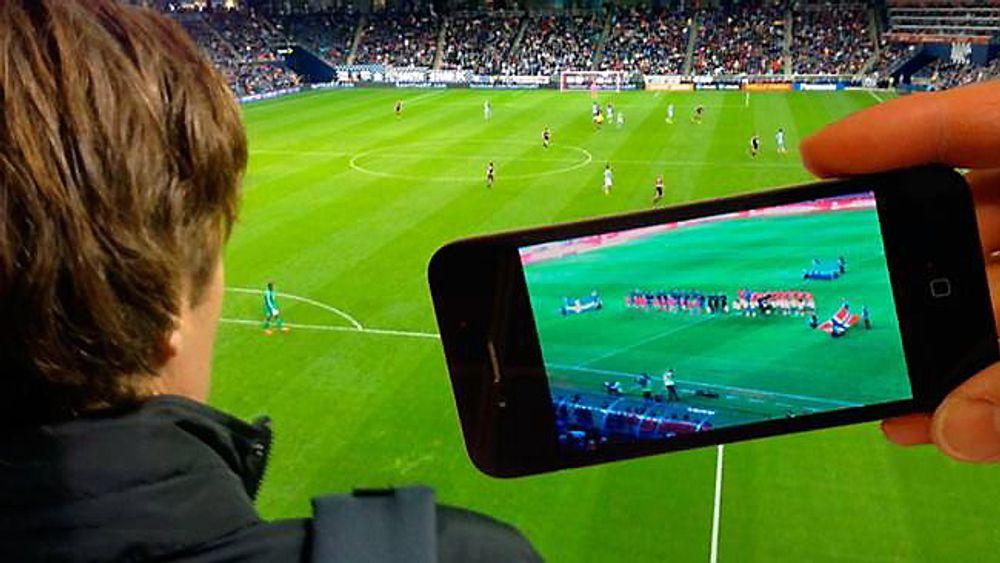 Fire fotballstadion skal teste mulighetene for å kunne strømme video under fotballkampene.