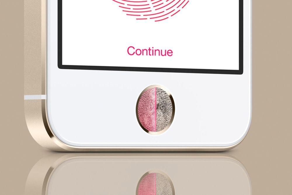 Apple har ført an i bruk av fingeravtrykket for å autenitisere brukeren via startknappen