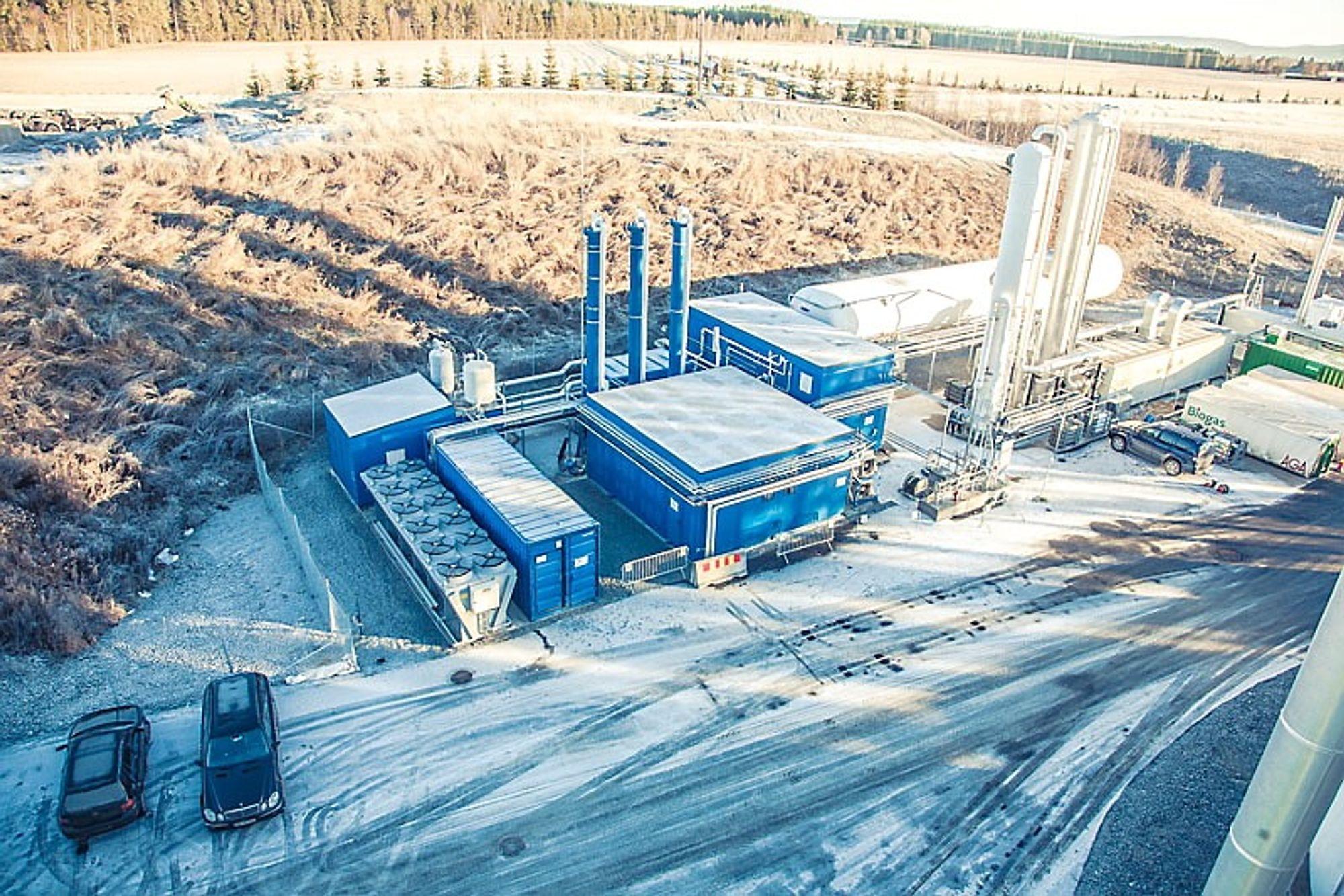 I mars håper Energigjenvinningsetaten i Oslo å begynne produksjonen av flytende biogass på Nes i Romerike. Da skal søpla fra Oslo-borgernes grønne poser bli til flytende biometan, eller LBG (Liquid Bio Gas).