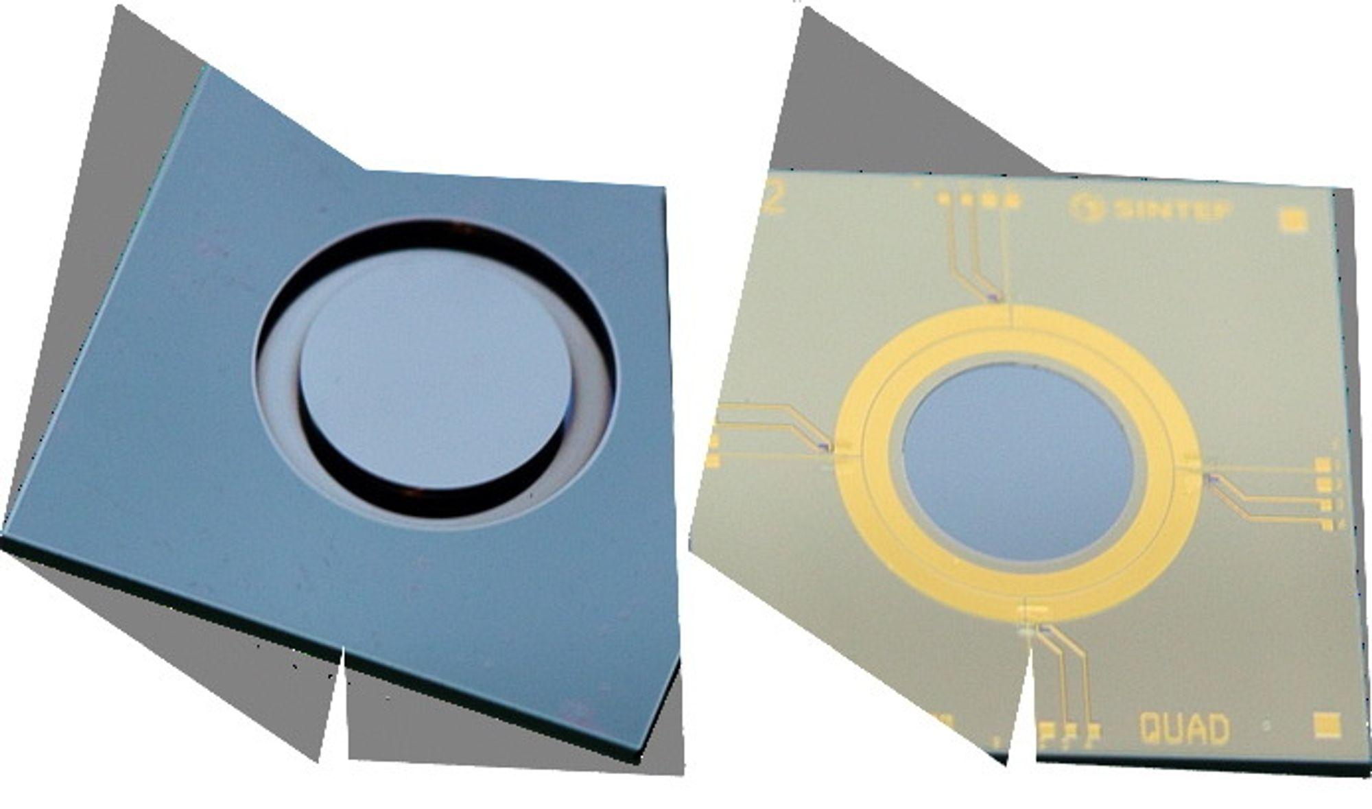 – Det nye konseptet vårt bygger på bittesmå filtre som vi lager ved hjelp av skivebasert silisium og mikromaskineringsteknologi, forteller Thor Bakke fra SINTEF.