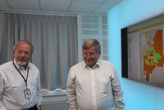 Teamwork: Adm. dir Torstein Sanness og letesjef Hans Christen Rønnevik har jobbet tett sammen i mange år. Begge var over 58 år og fikk sluttpakke da Statoil og Hydro ble slått sammen.
