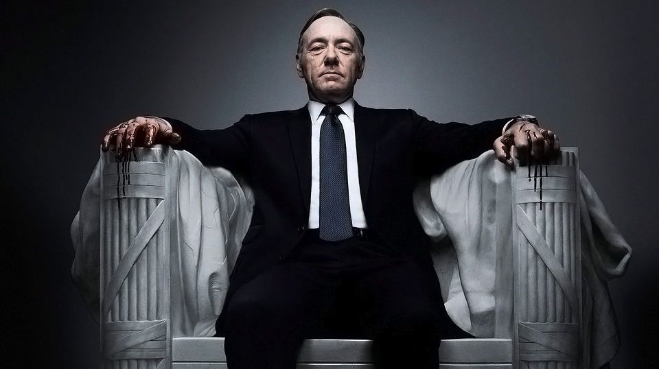 Netflix sender sesong 2 av House of Cards i 4K.