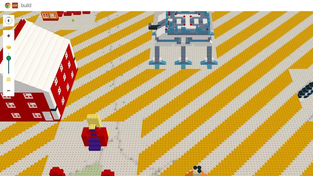 Alle kan sikre seg en tomteplass på Legokloden og sette sitt preg med egen byggestil.