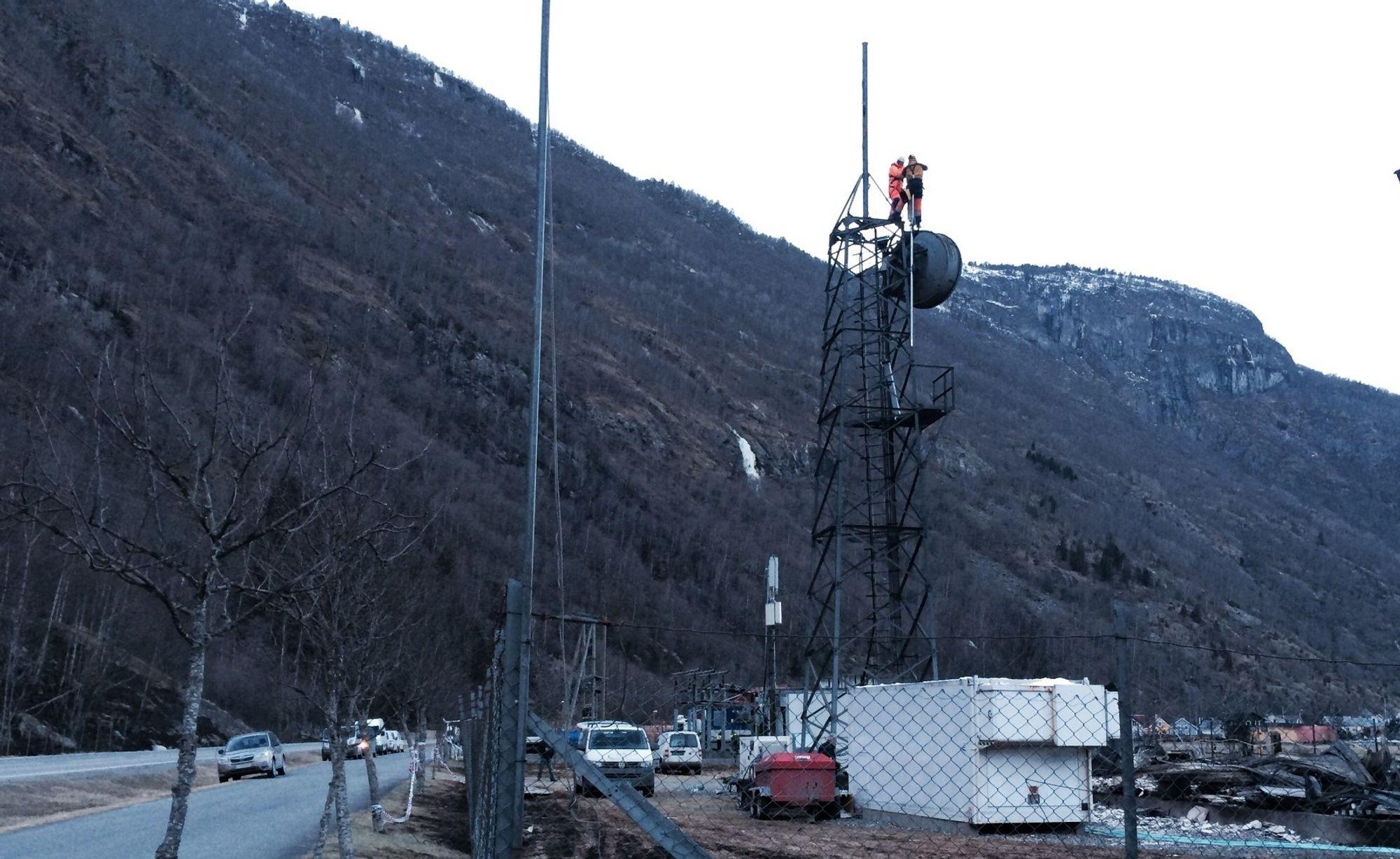 telefonsentraler i sogn og fjordane