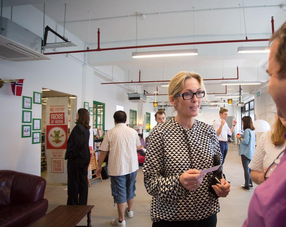 Administrerende direktør i Innovasjon Norge, Anita Krohn Traaseth, avviser at det vil bli nedbemanninger som følge av lederlønningene.