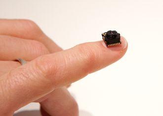 Her er den første Lepton-sensoren som ble tatt i bruk i PD-100T. Lepton er nå en hel familie sensorer.