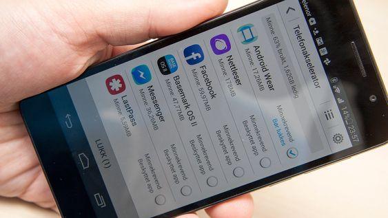 Den såkalte telefonakselleratoren mener at enkelte apper bør avsluttes. En kan spørre seg hvorfor de i så fall har tatt seg bryet med å utstyre Honor 6 med hele 3 GB arbeidsminne.