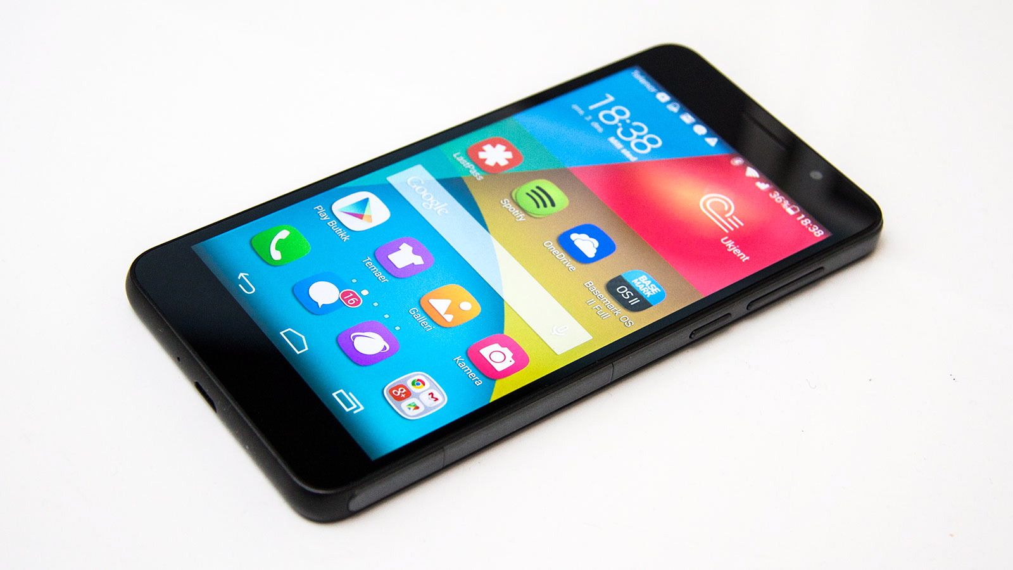 Billig smarttelefon med bra kamera