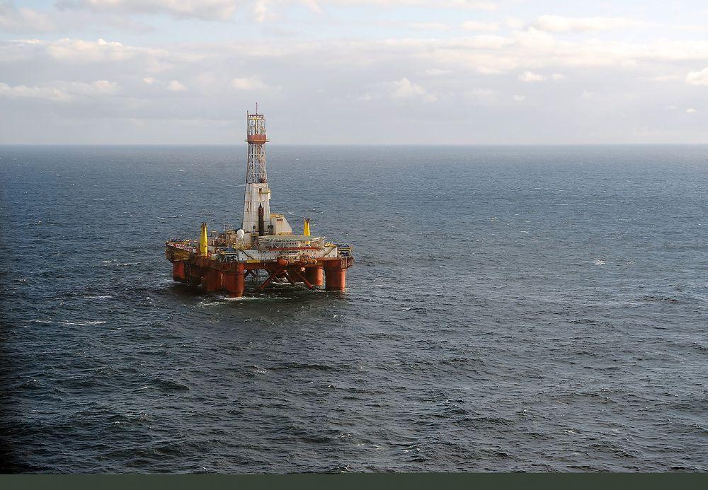 Statoil og partnerne har gjort et lite oljefunn på Krafla North. Letebrønnet ble boret av riggen Transocean leader.