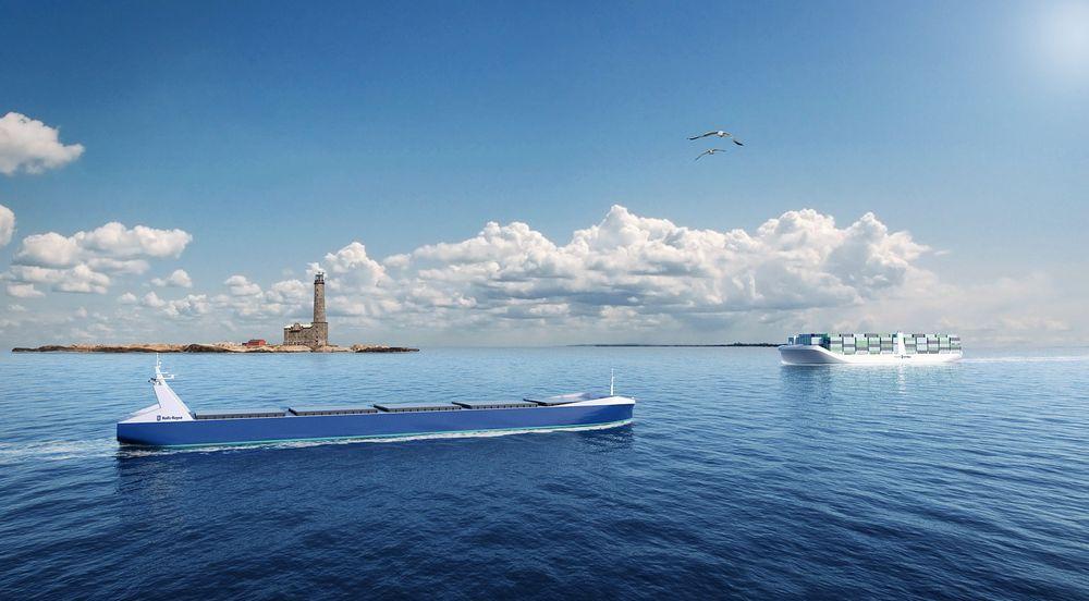 Fjernstyrt: Autonome skip stevner mot land om noen år?