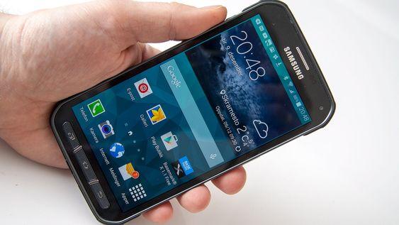 Galaxy S5 Active er lik i bruk som Galaxy S5.