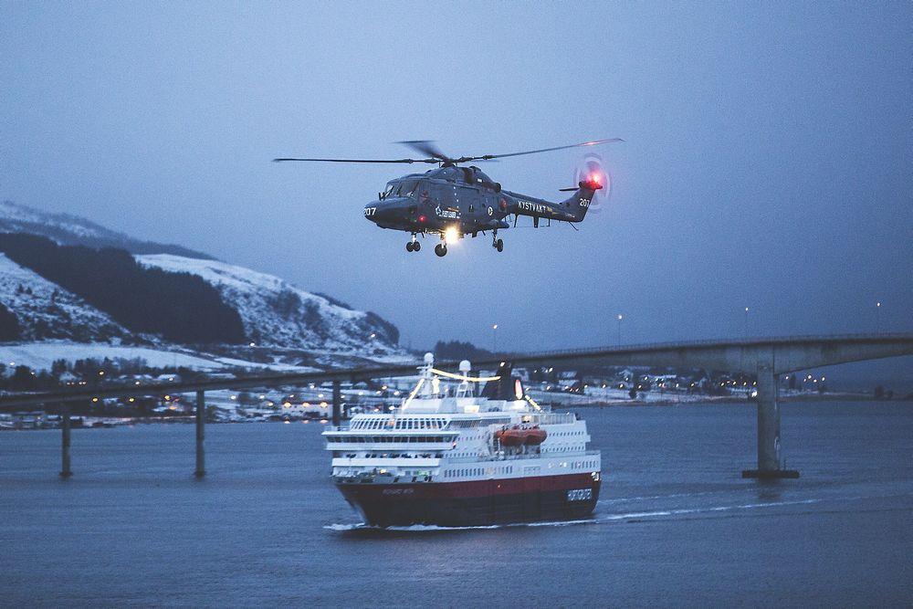 Dette Westland Lynx-helikopteret kommer til å passere 9 200 flytimer og skal til Flymuseet i Bodø over nyttår.