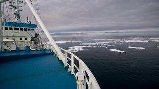 Norsk forskningsfartøy skal drive i Nordishavet