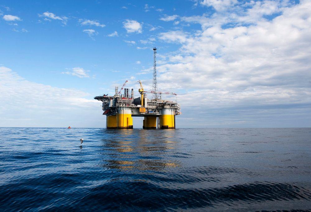 Wintershall øker anslagene for olje i Maria, til 180 millioner fat olje og gass. Den planlagte utbyggingsløsningen er en subsea tieback til blant annet Kristin-plattformen (bildet).