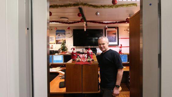 Erik Lea skal feire jul på Åsgard A.