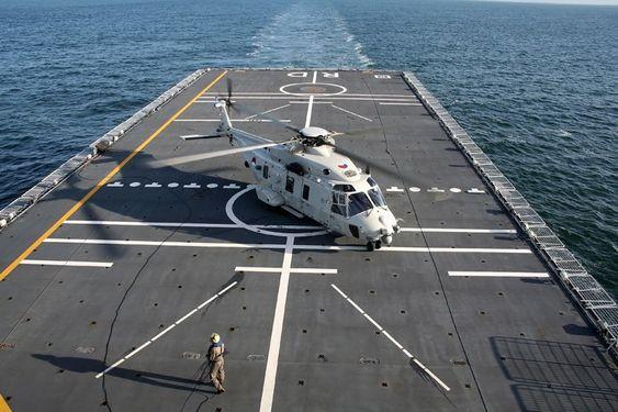 Den nederlandske 860-skvadronen var først med å ta i bruk NH90 NFH med full operativ kapasitet (FOC) høsten 2012.