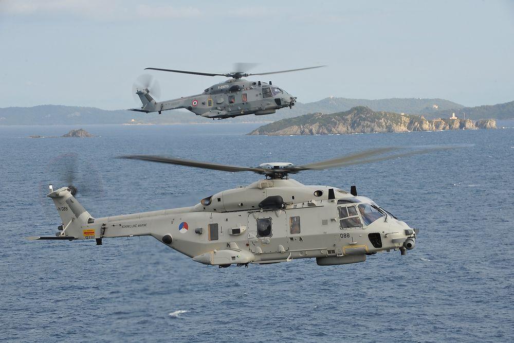 Alarmen gikk da det ble avdekket uvanlig mye korrosjon både på nederlandske (nærmest) og franske NH90-helikoptre som hadde operert til sjøs i 2013.