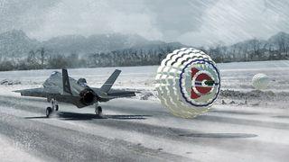 Norge betaler for bremseskjerm til F-35 - jobben forsvant til Nederland