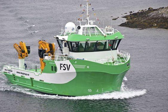 FSV har nå ytre sett tre identiske skip for serviceoppdrag til oppdrettsnæringen. Men bare ett av dem har diesel-elektrisk framdrift.