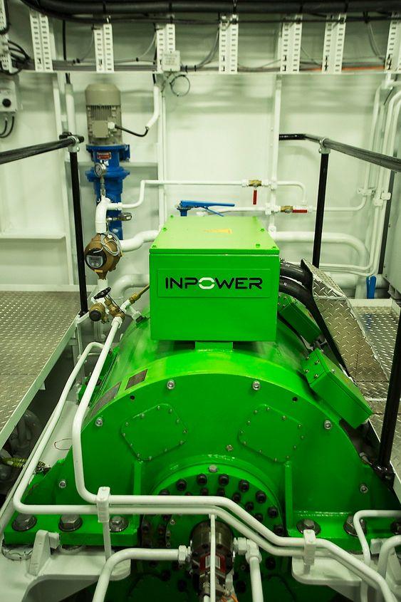 Permanentmagnetmotoren Inpower leverer bygger videre  på idéer og teknologi utviklet av oppfinner og gründer Normann Sandøy.