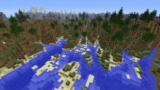 Slik ser norske kartdata ut i Minecraft