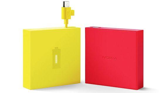 Denne batteripakken fra Nokia lar deg forlenge brukstiden på telefonen din litt, slik at du ikke går tom før neste stikkontakt.