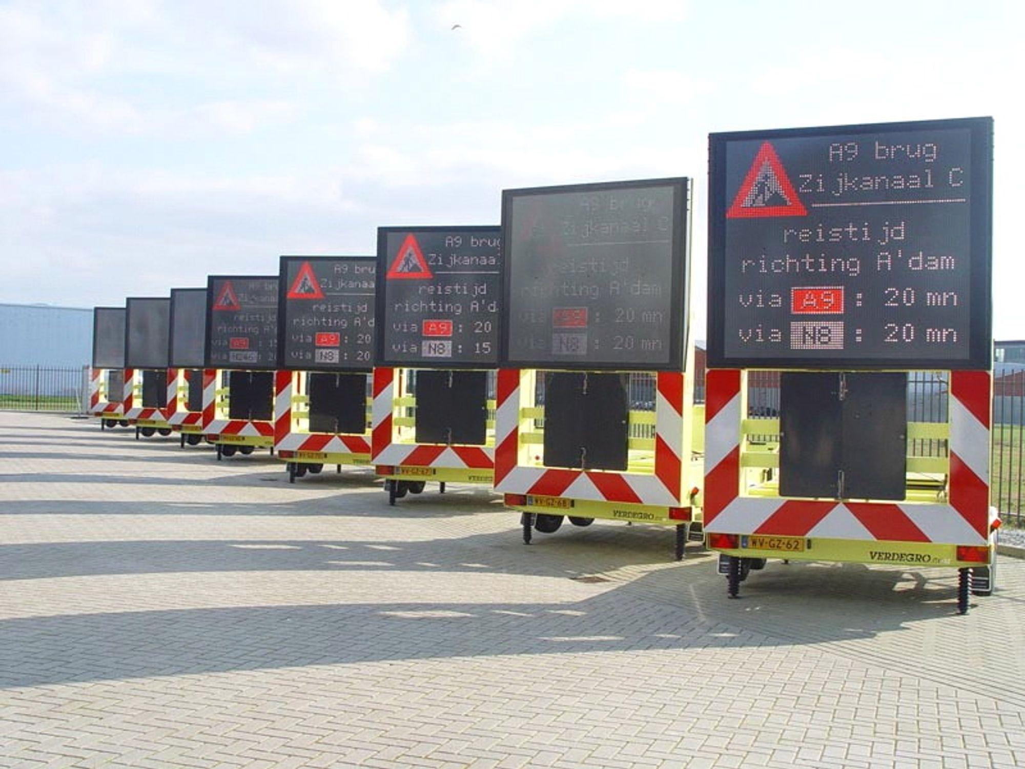 Variable mobile skilt gjør det enklere å gi riktig informasjon til riktig tid langs veiene.