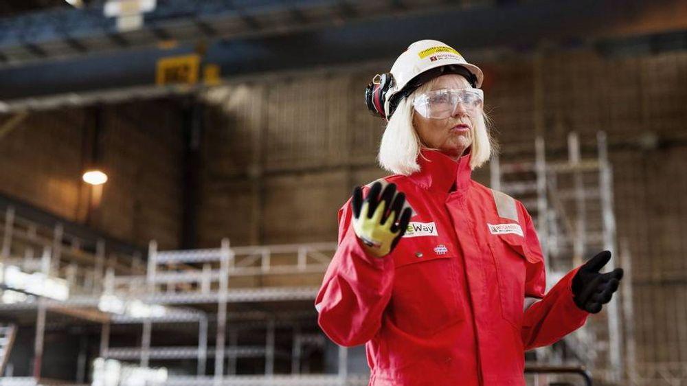 Kristin Færøvik er ny Lundin-sjef. Hun kommer fra stillingen som administrerende direktør i verftet Rosenberg WorleParsons i Stavanger.
