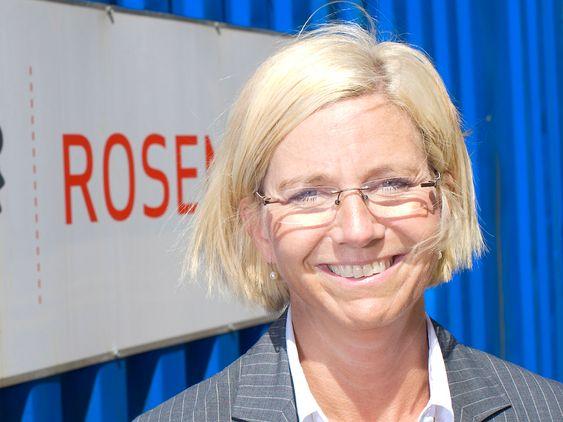 HEKTISK: Administrerende direktør Kristin Færøvik ved Bergen Group Rosenberg skal ansette flere ingeniører. Kvitebjørn-kontrakten og et marked i vekst sikrer mye arbeid.