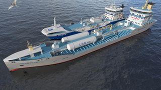 Skangass skal fylle LNG fra skip til skip